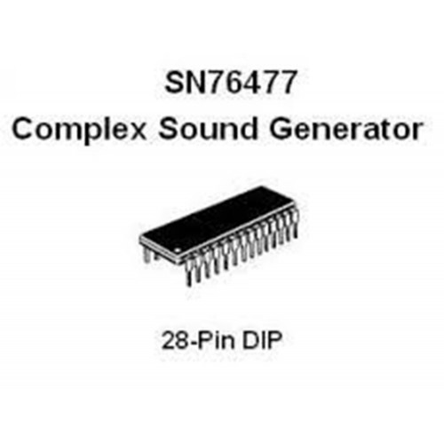 ti sn76477 ic (ICNTI7647NONE01) by synthcube.com
