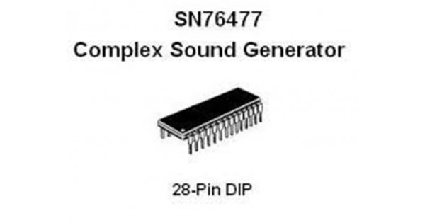 ti sn76477 ic  icnti7647none01  by synthcube com