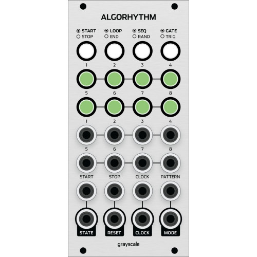 grayscale algorhythm, kit, euro 12hp (KITGSALGOEGRY12) by synthcube.com