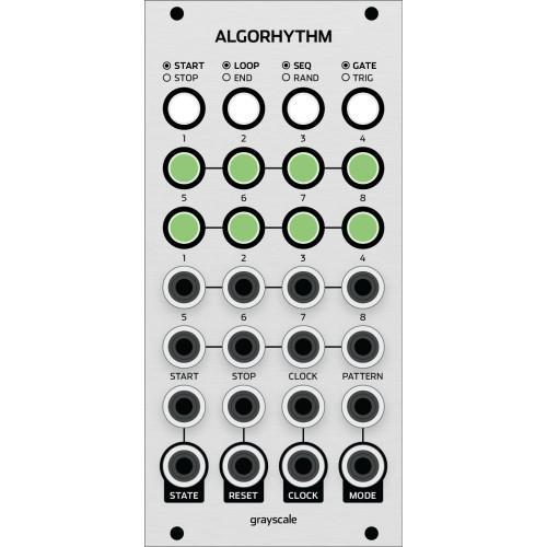 grayscale algorhythm, kit, euro 12hp (KITGSALGOEGRY12) by synthcube.com