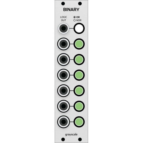 grayscale binary, kit, euro 6 hp (KITGSBINAEGRY06) by synthcube.com