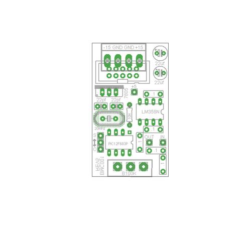 barton quantizer, pcb+chip, single (PCBMBSQNTNONE10) by synthcube.com