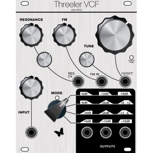 ian fritz threeler vcf, euro, assembled (ASMIFTHREECLK01) by synthcube.com