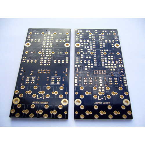 l-1 ac/dc mixer, pcb+smt, 12V or 15V (PCBL1ACDCEURO10) by synthcube.com