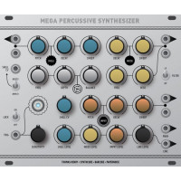 thomas henry megapercussive synth, euro 30hp