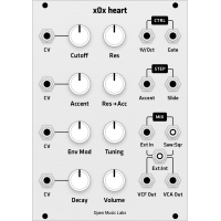 open music labs x0x-heart DIY